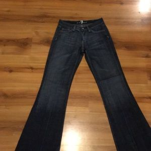 7 for all man kind women's jeans size 25